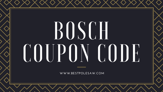 Bosch Coupon Code