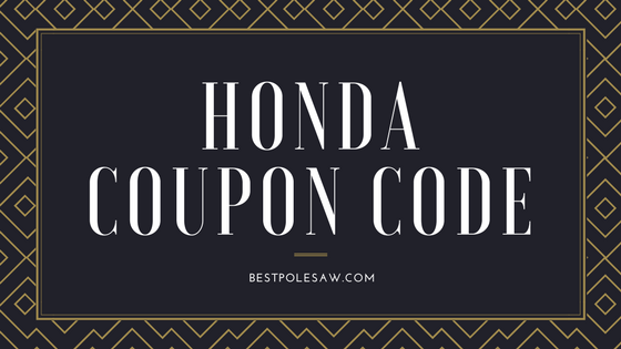 Honda Coupon Code